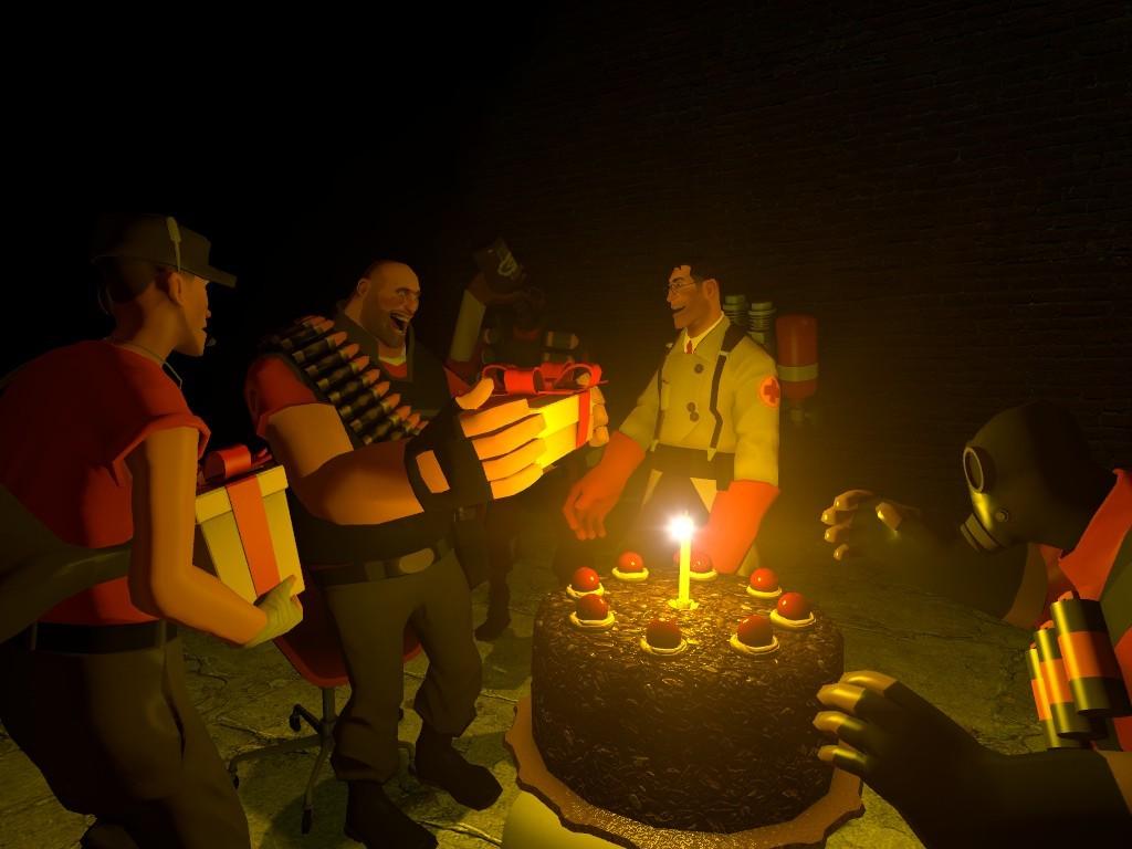 Днем рождения, день рождения геймера открытка